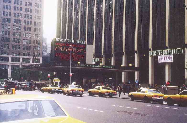 Pictures of Madison Square Garden