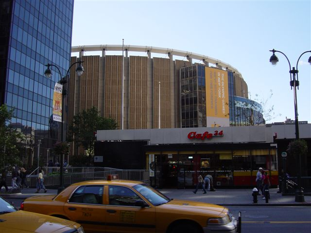 The Madison Square Garden, home of the NHL´s New York Rangers