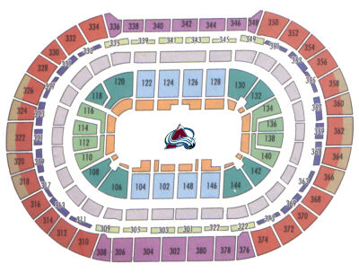 The pepsi center home of the nhl s colorado avalanche