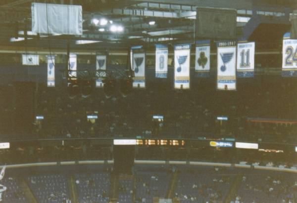 Pictures Of The Savvis Center In St Louis Home Of The